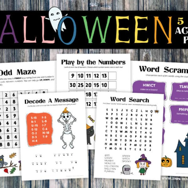 Free Halloween Printables – Your Kids Will Love These