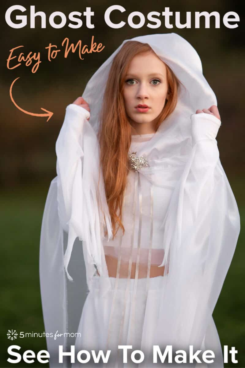 Ghost Costume - DIY Ghost Halloween Costume