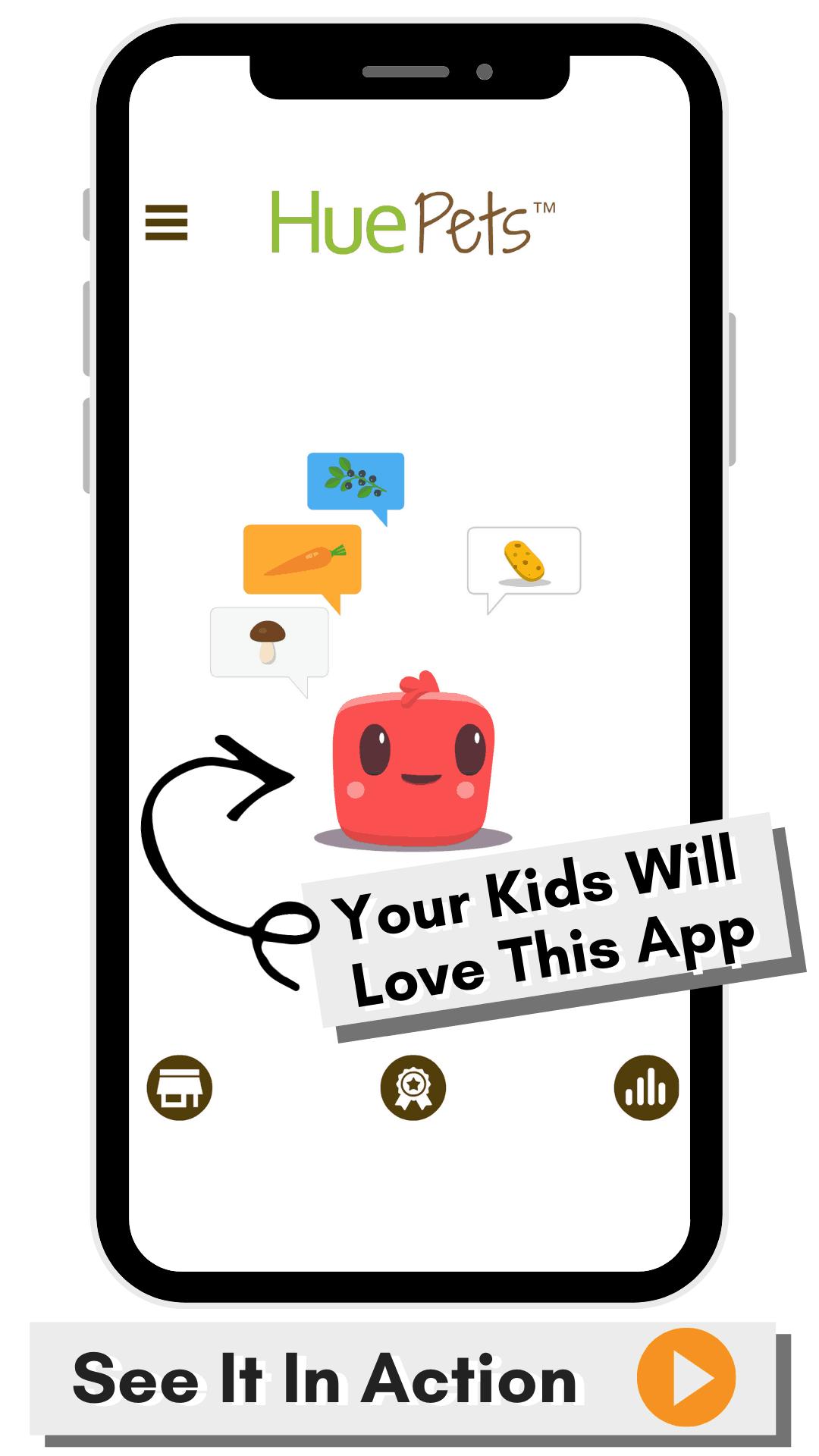 HuePets App Game For Kids