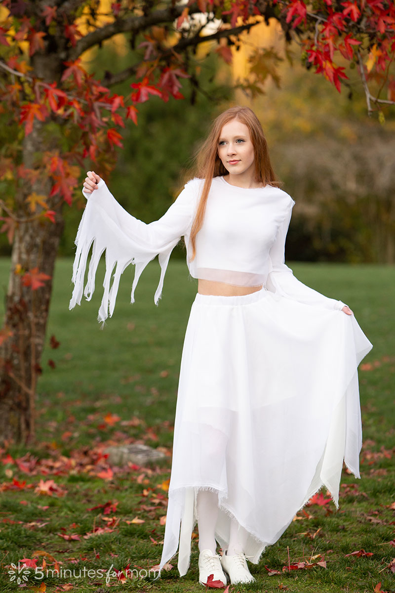 beautiful ghost costume for teen girls