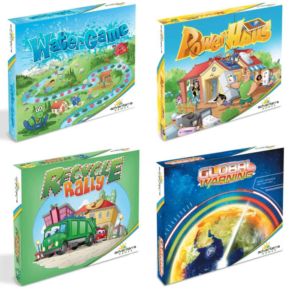 Adventerra Games - Set of 4 Games