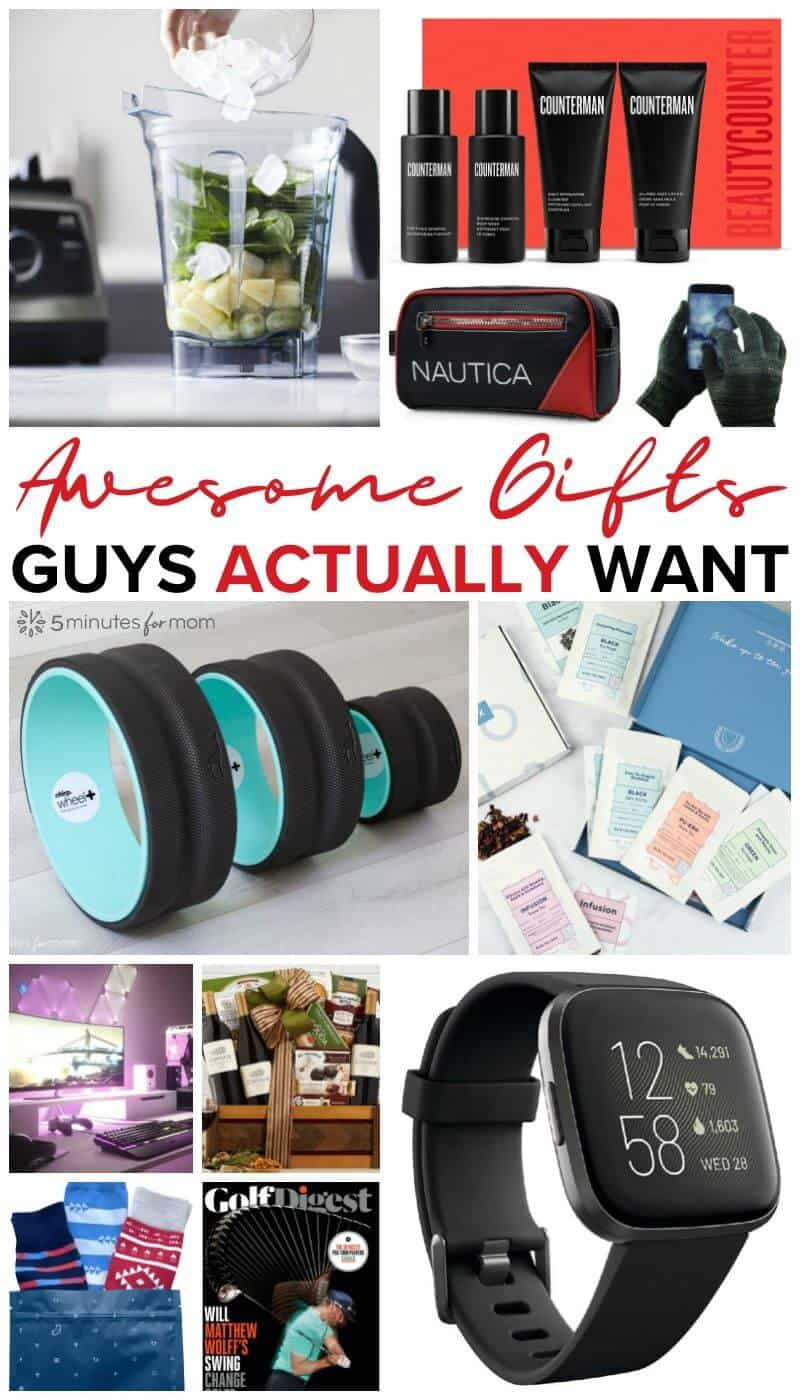 Awesome Gifts Guys Actually Want - Gift Guide for Men