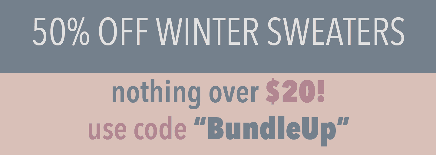 Cents of Style Sweater Sale