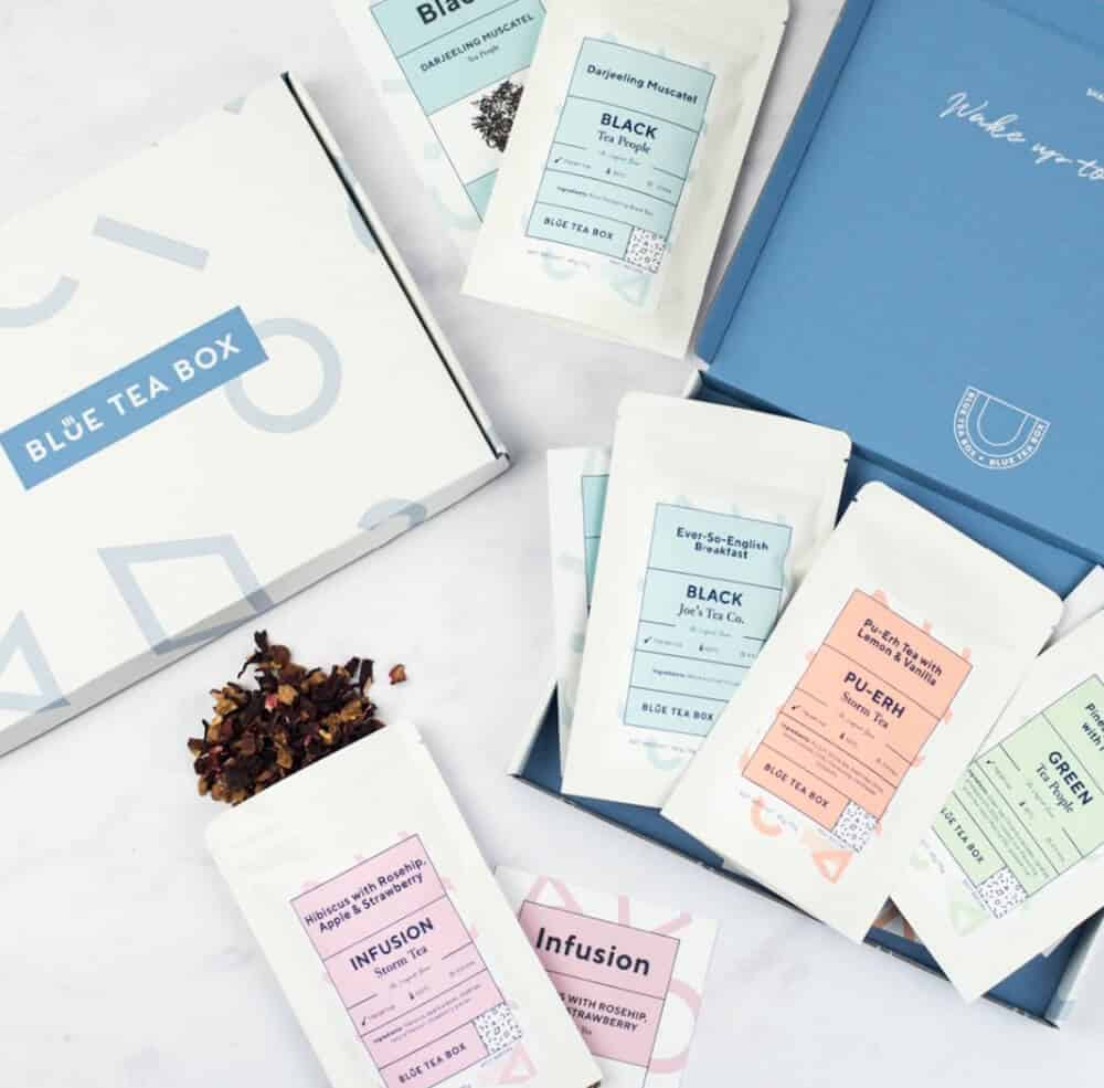 Christmas Gift Ideas for Her - BlueTeaBox Tea Subscription