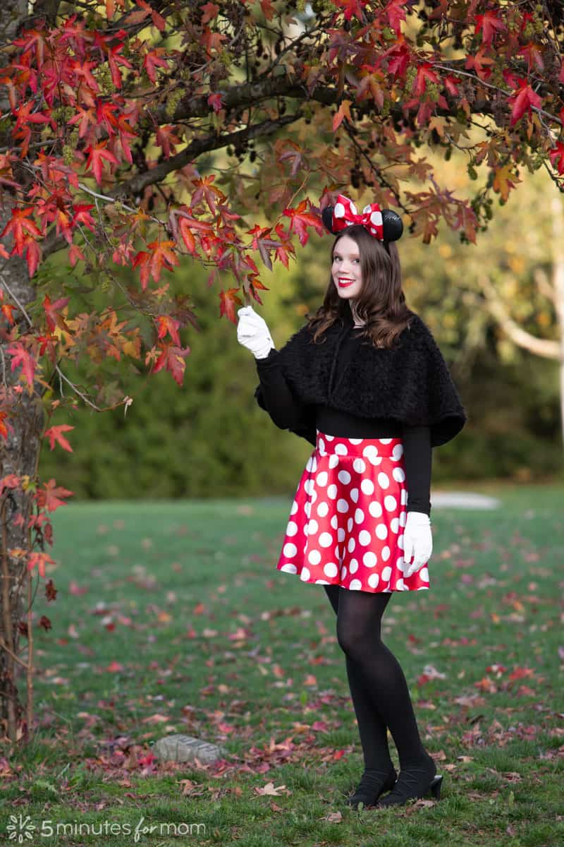 DIY Minnie Mouse Costume - How To Make A Minnie Mouse Skirt
