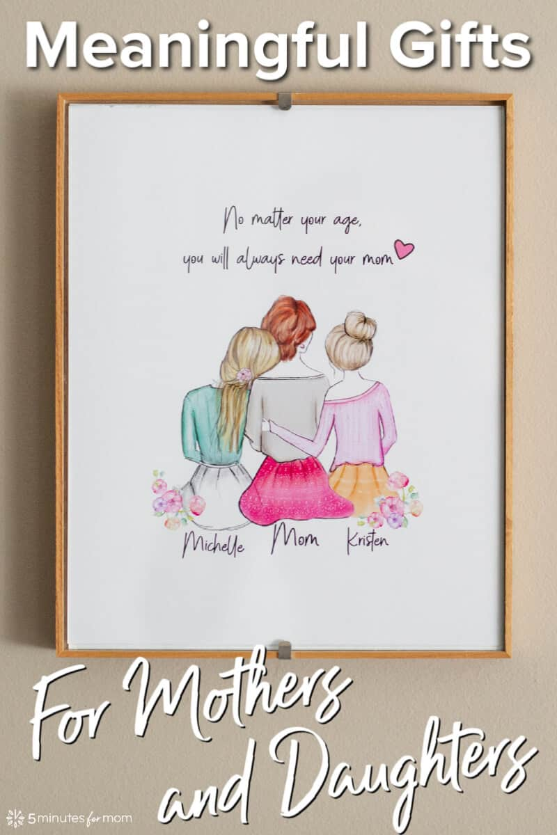 Meaningful Gifts for Mothers and Daughters