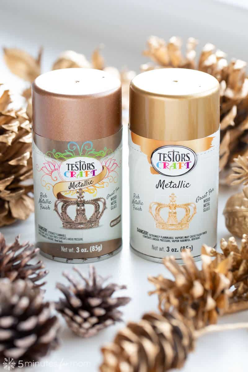 Testors Metallic Spray Paint