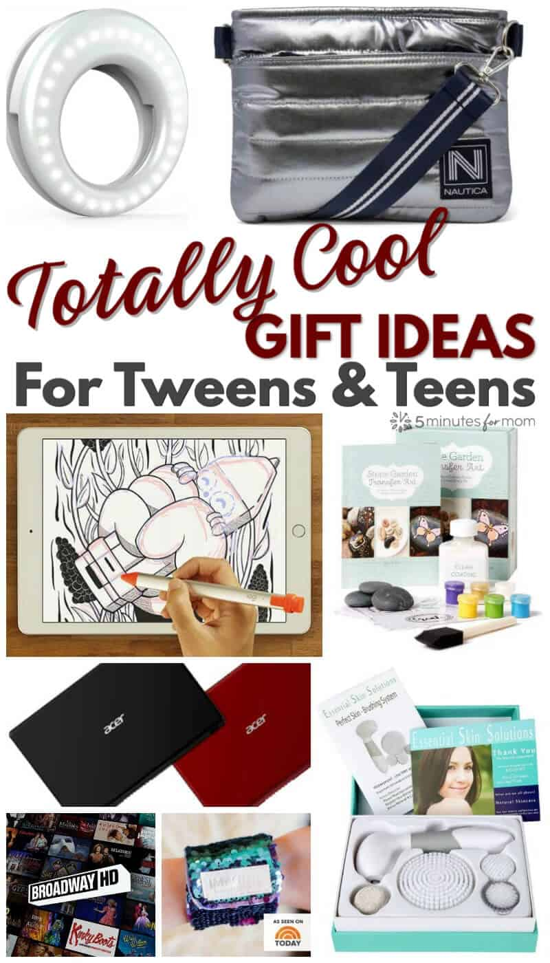 Totally cool gift ideas for tweens and teens