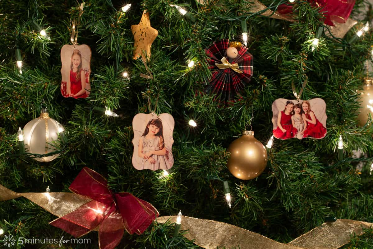 DIY Photo Ornaments - How To Turn Your Photos Into Beautiful Christmas Ornaments