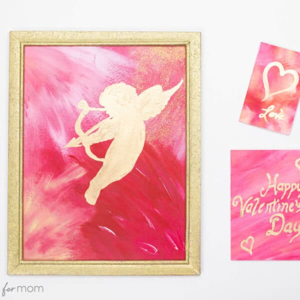 Valentine's Day Painting – An Easy Art Project With Stunning Results!