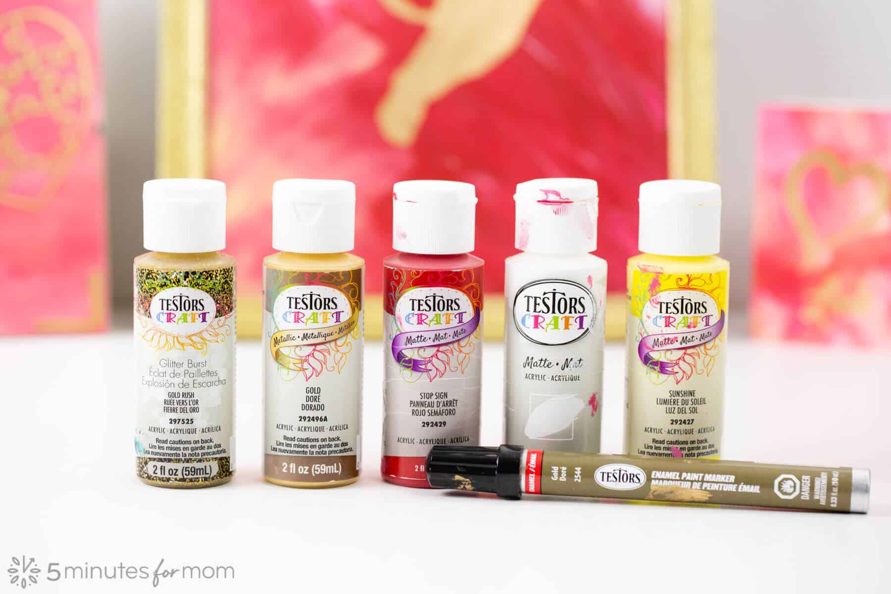 Testors Craft Acrylic Paints