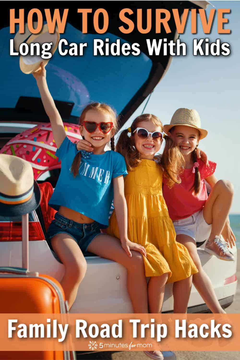 Family Road Trip Hacks - Top Tips For Surviving Long Car Rides With Kids
