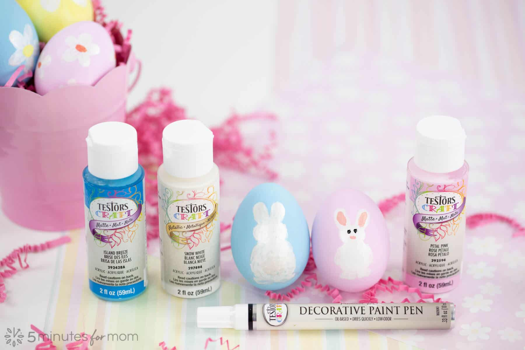 Easter Egg Painting Supplies