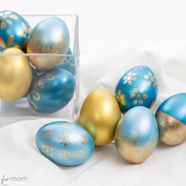Easter Egg Painting – How to Decorate Easter Eggs with Acrylic Paint and Enamel Paint Pens