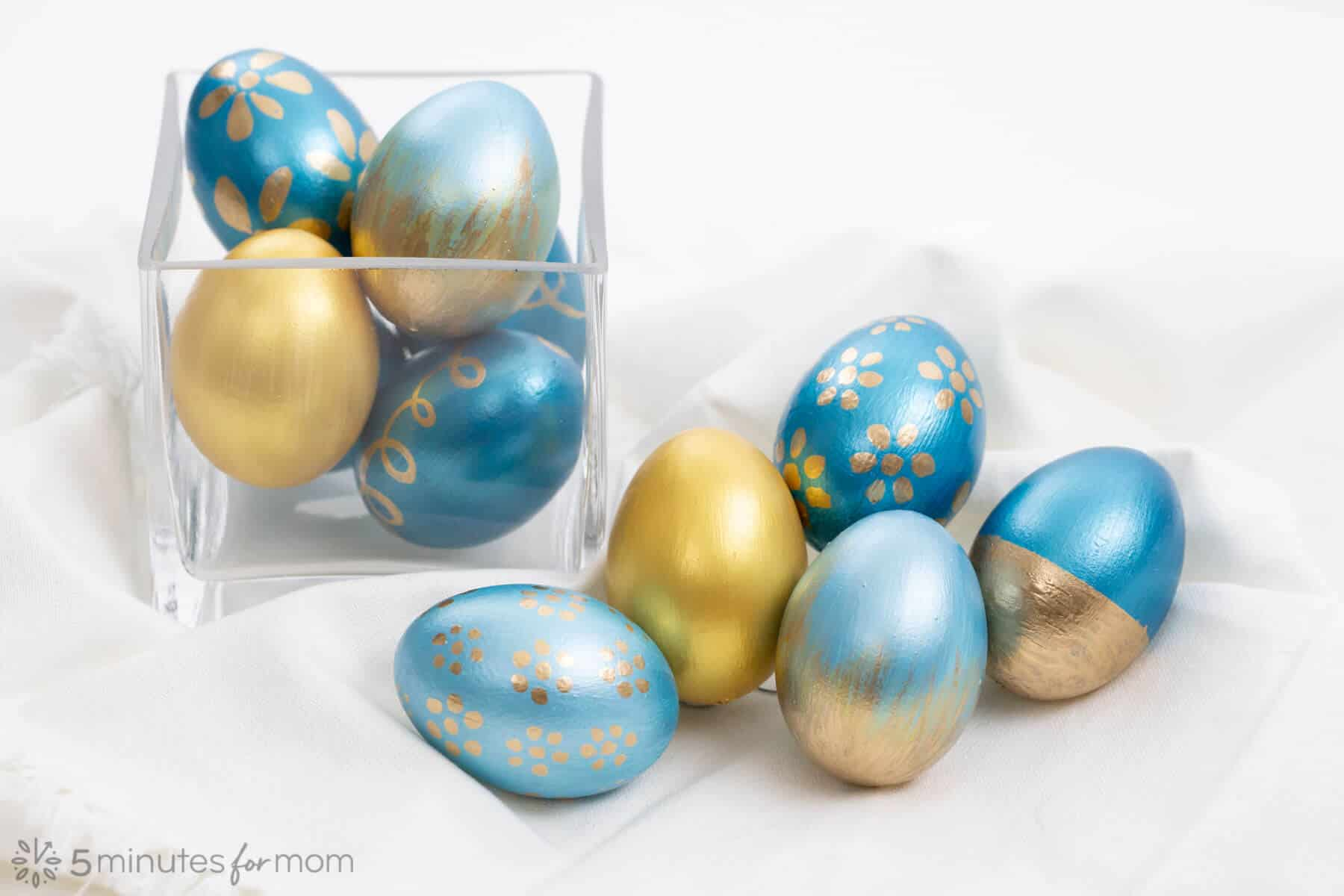 Easter Egg Painting with Testors Paint
