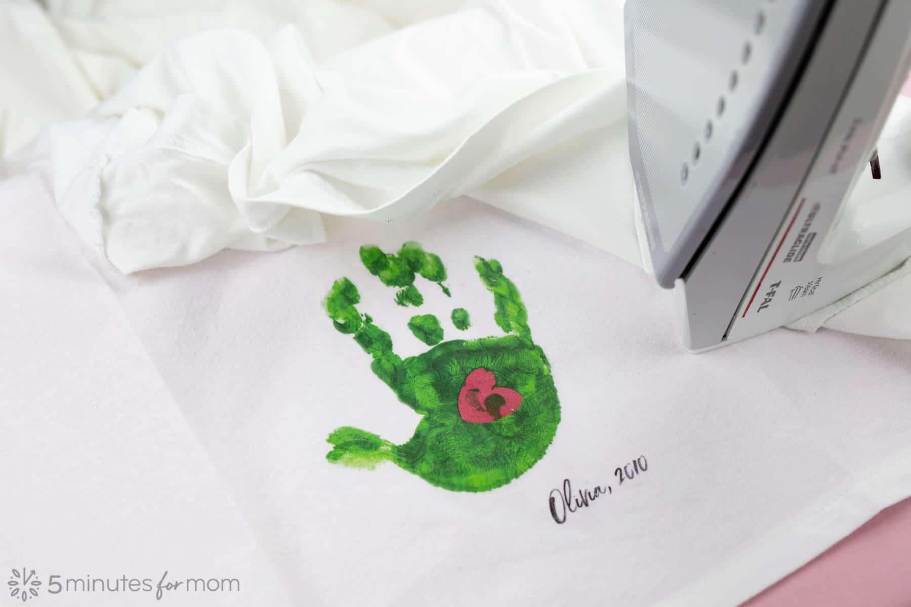image transfer on fabric