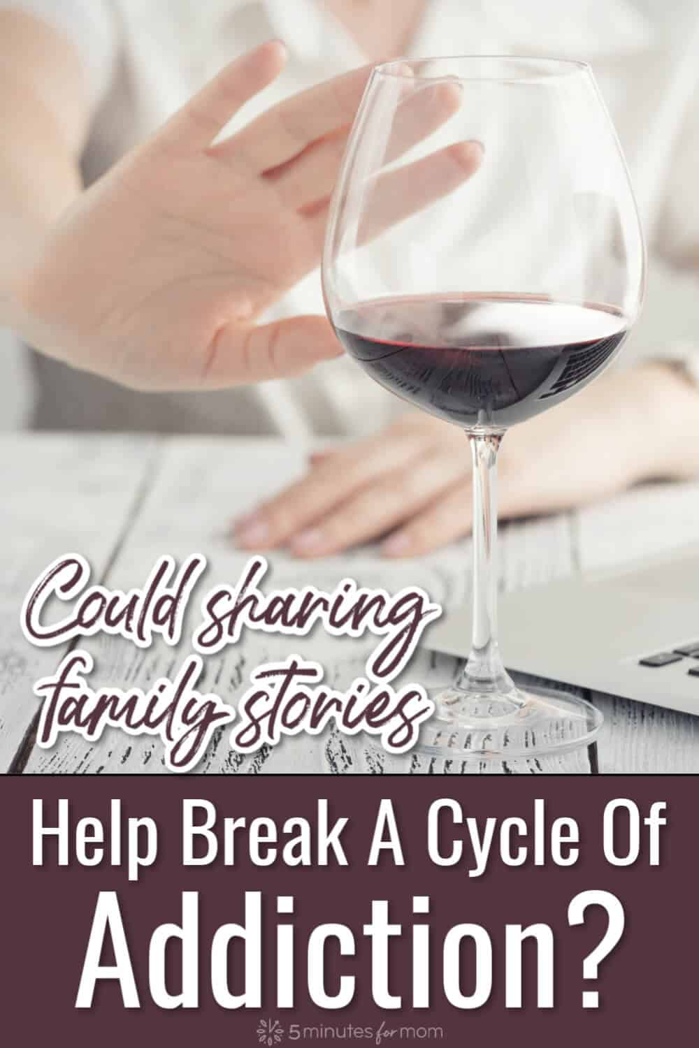 Could Sharing Family Stories Help Break Cycle of Addiction