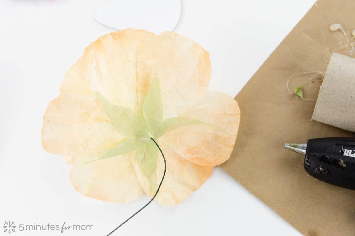 Paper Rose Sepal Free Template