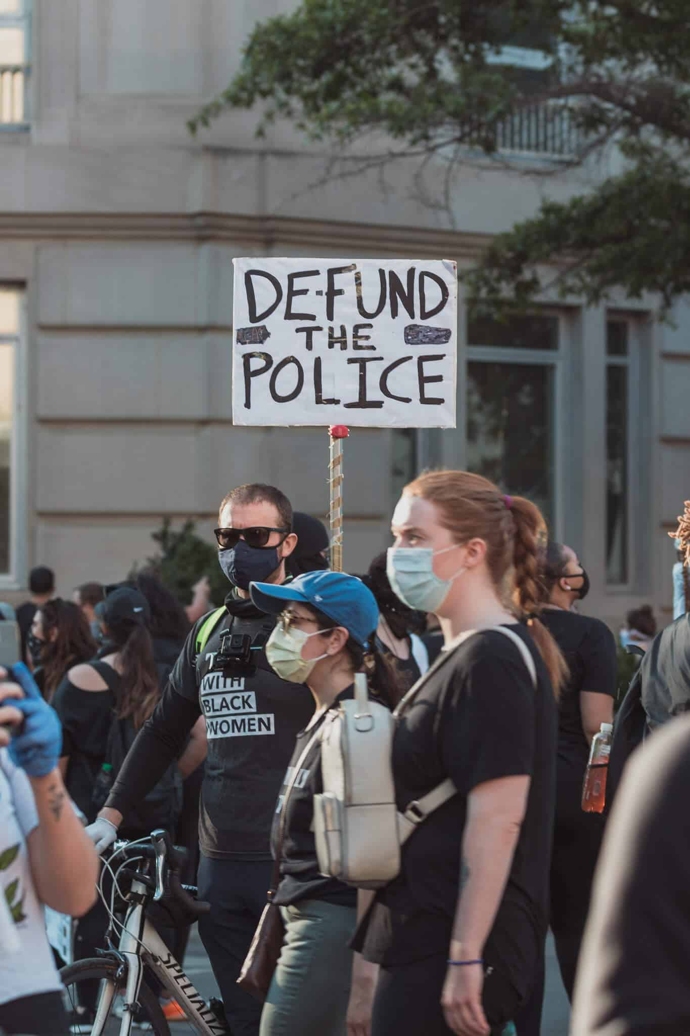 Defund Police - Black Lives Matter Protest - Washington DC - Photo by Yash Mori