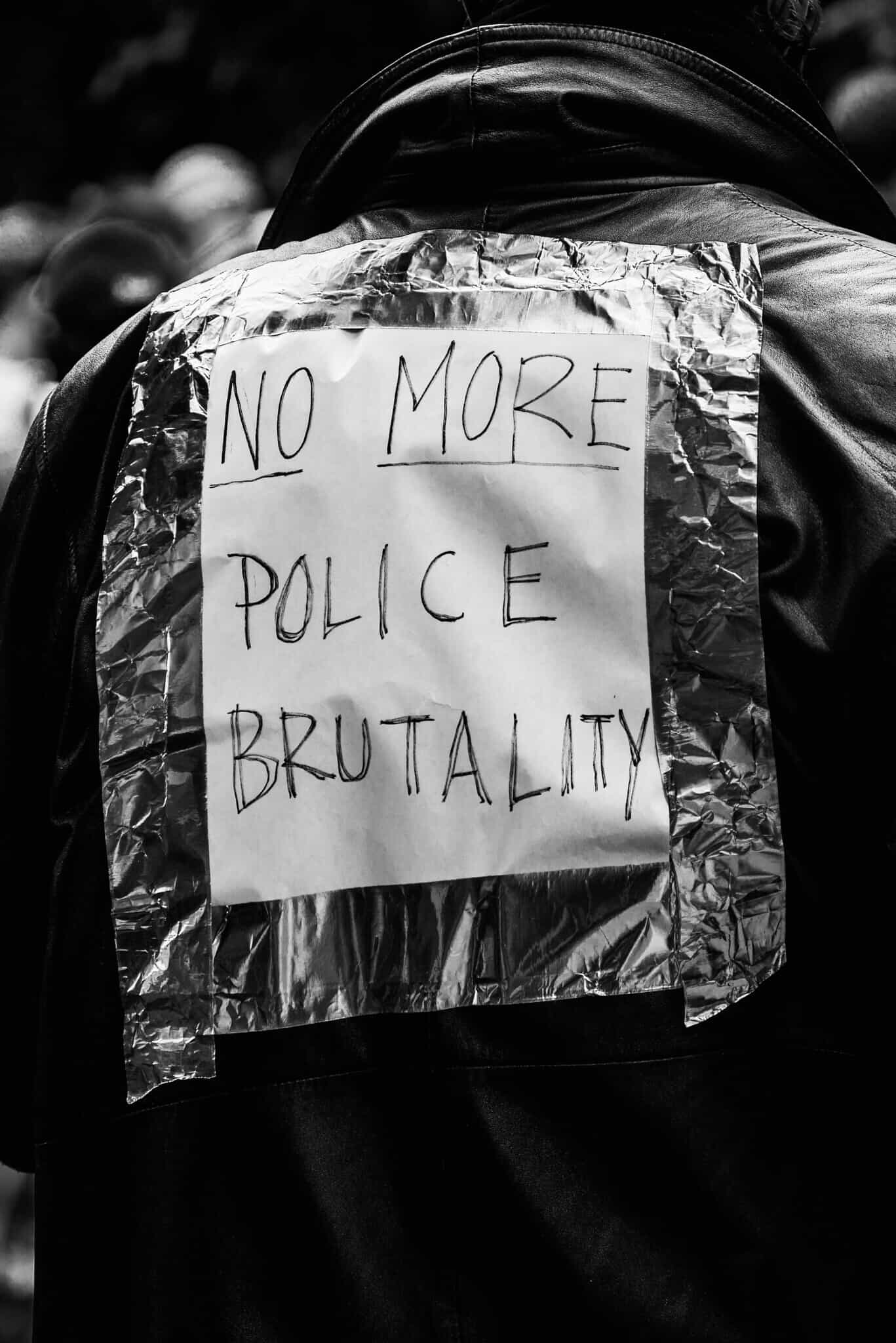 No More Police Brutality - Photo by Jason Hargrove