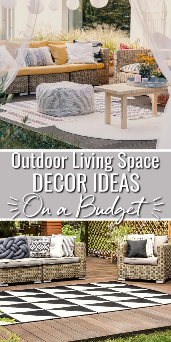 Outdoor Living Space Ideas on a Budget