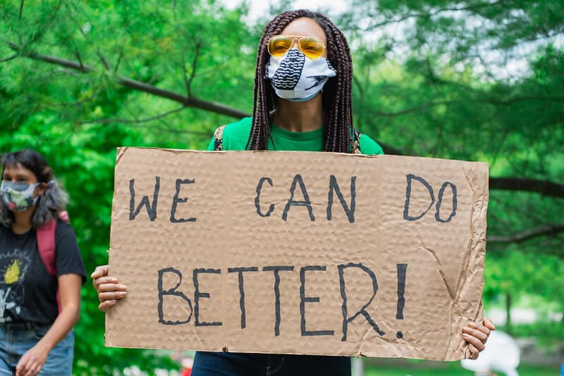 We Can Do Better Sign - Photo by Jason Hargrove Flickr