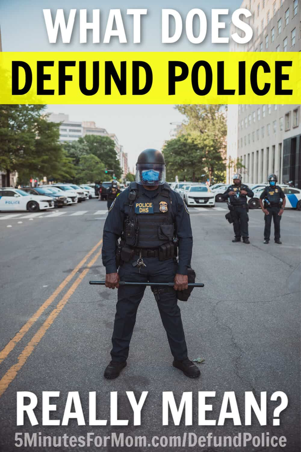 What Does Defund Police Really Mean