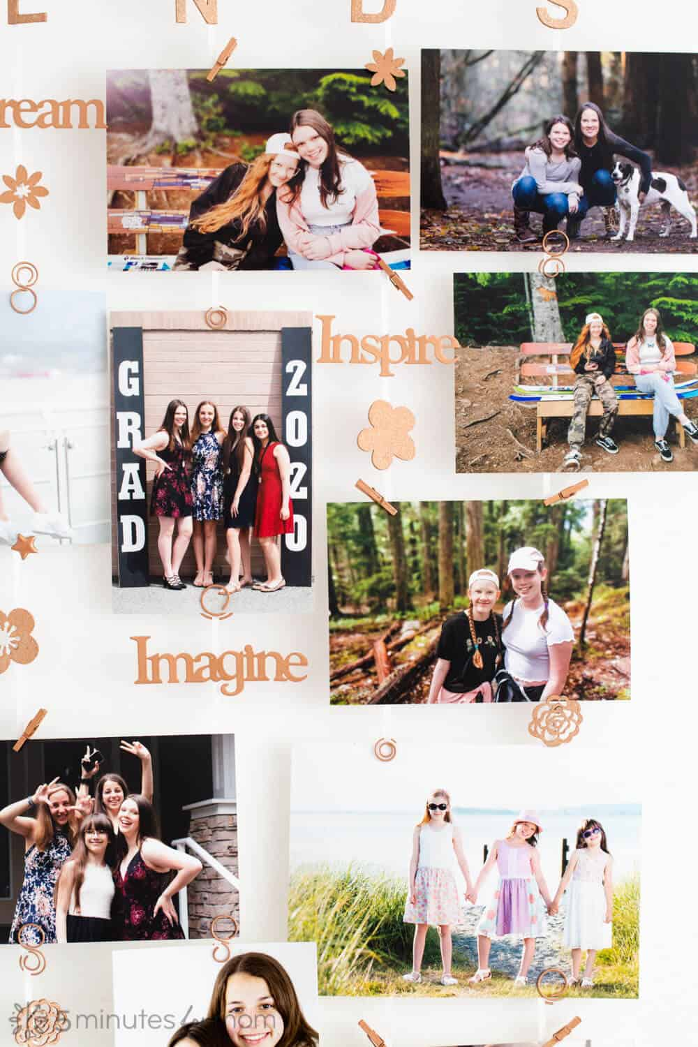 photo display for tweens and teenagers