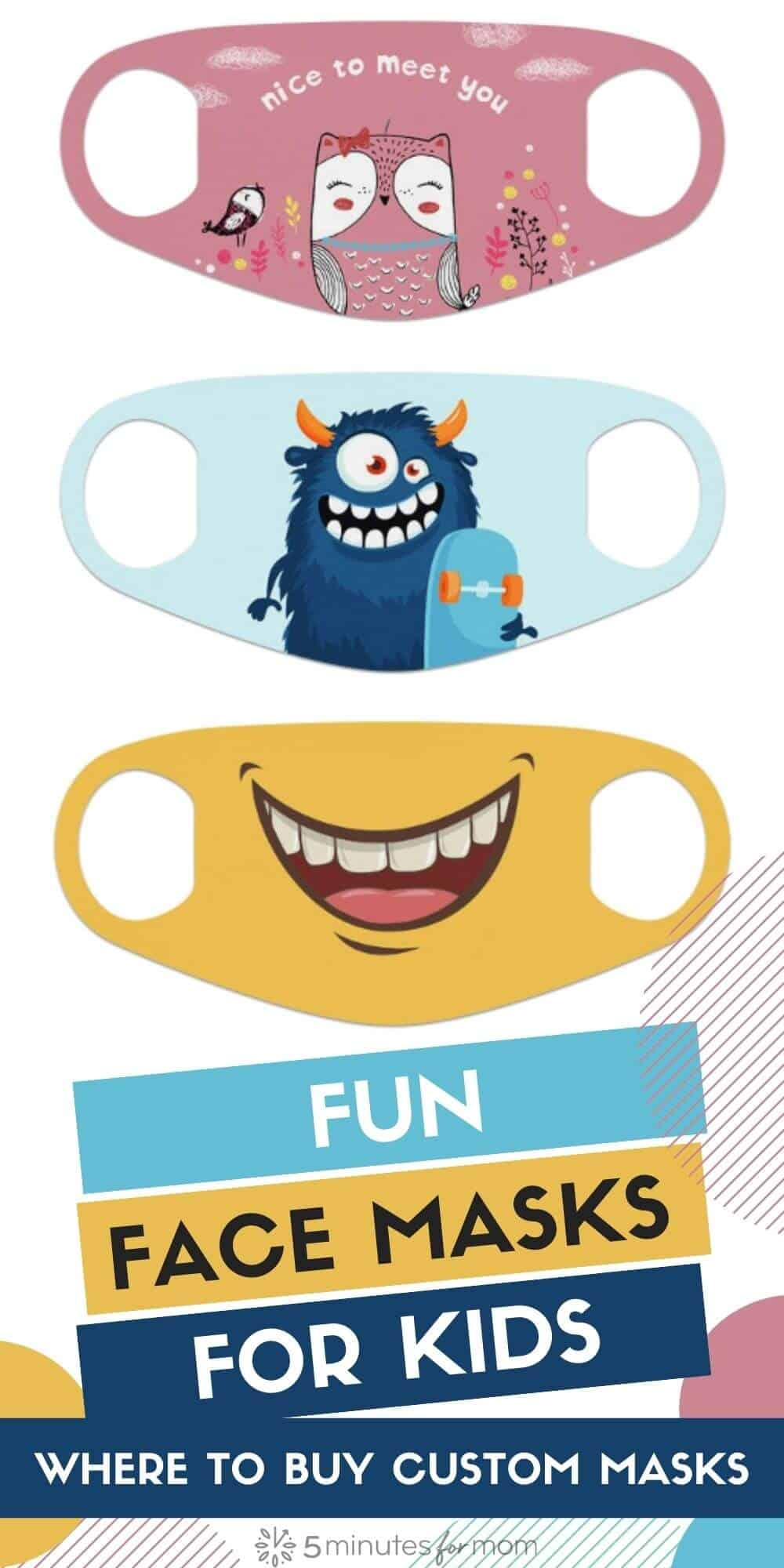 How to Create Custom Fun Face Masks for Kids