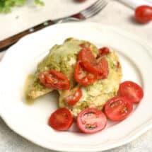 Instant Pot Pesto Chicken Recipe - Easy Dinner