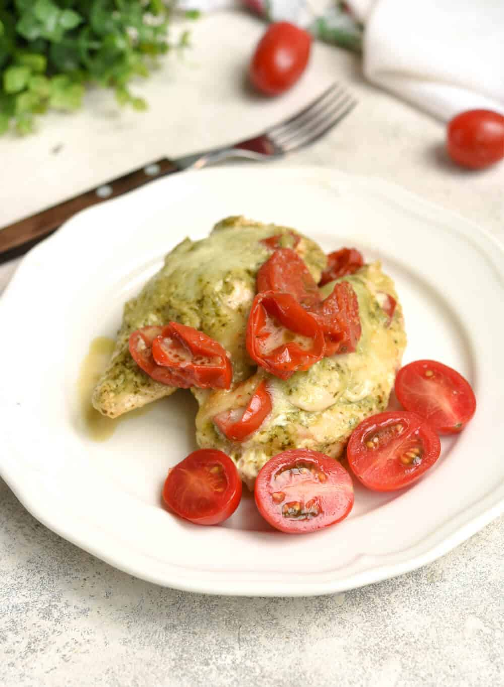 Instant Pot Pesto Chicken Recipe - Easy Dinner