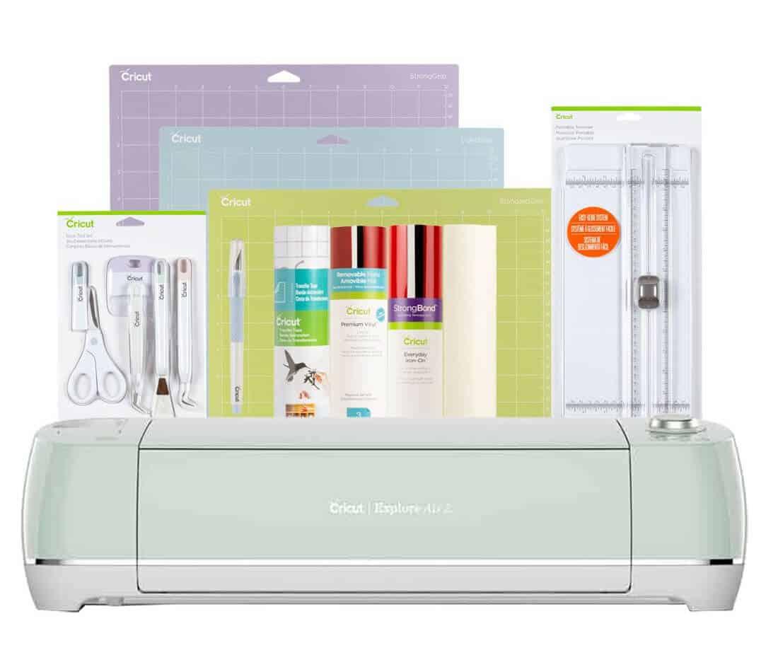 Cricut air2 essentials bundle - Gift for Women