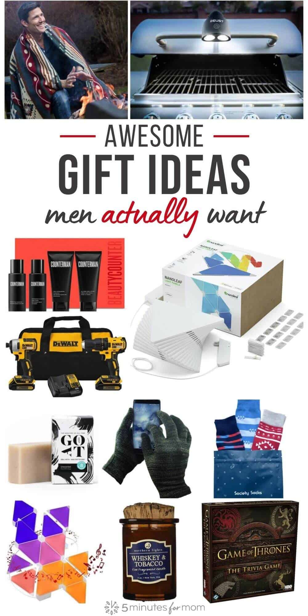 Gift Ideas for Him - Christmas Gifts for Men