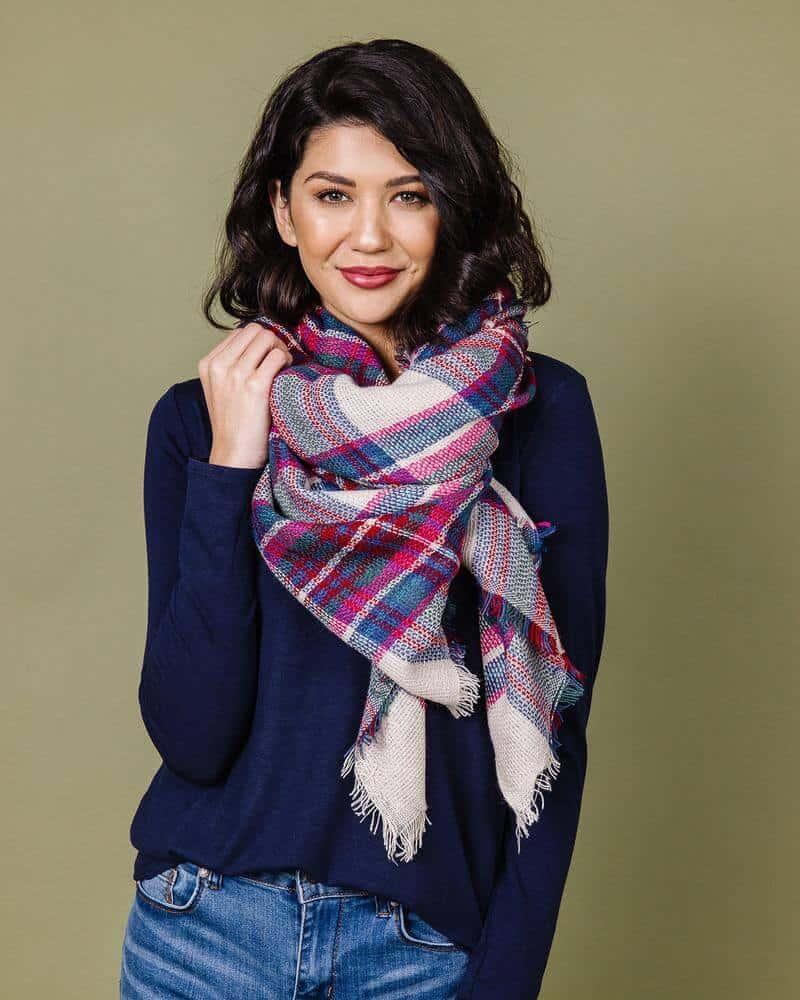 Gift idea for women - Blanket Scarf