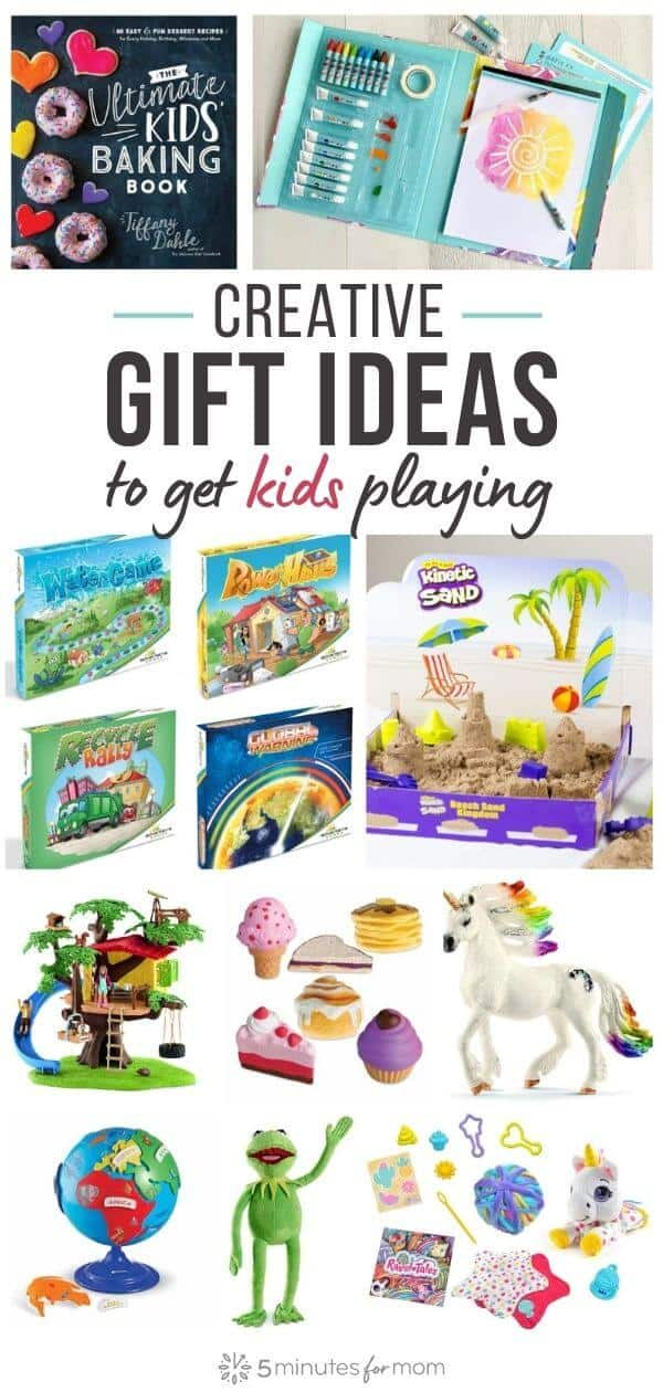 Holiday Gift Guide for Kids - Creative Gift Ideas