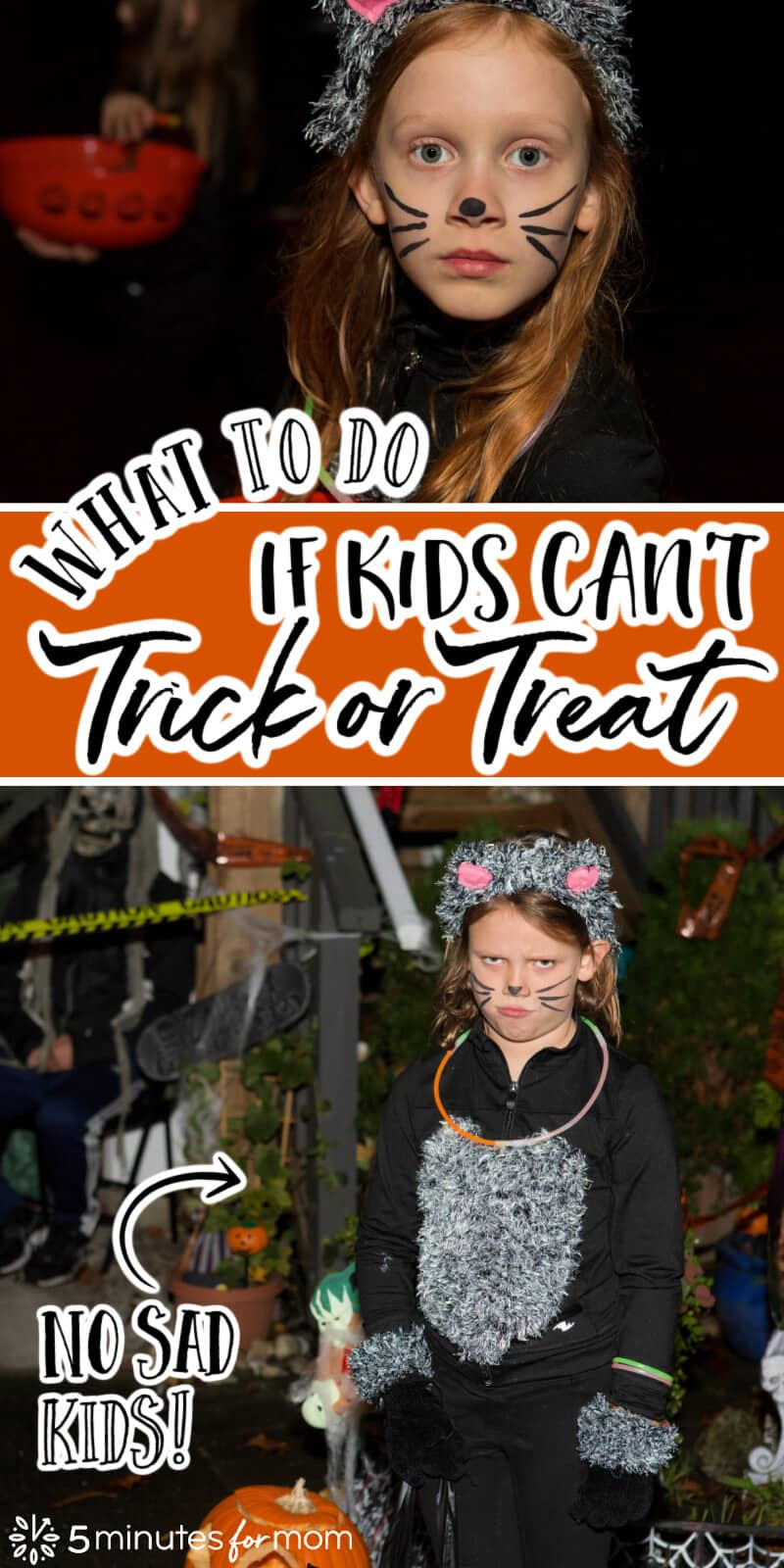 What to Do If Kids Can't Trick or Treat