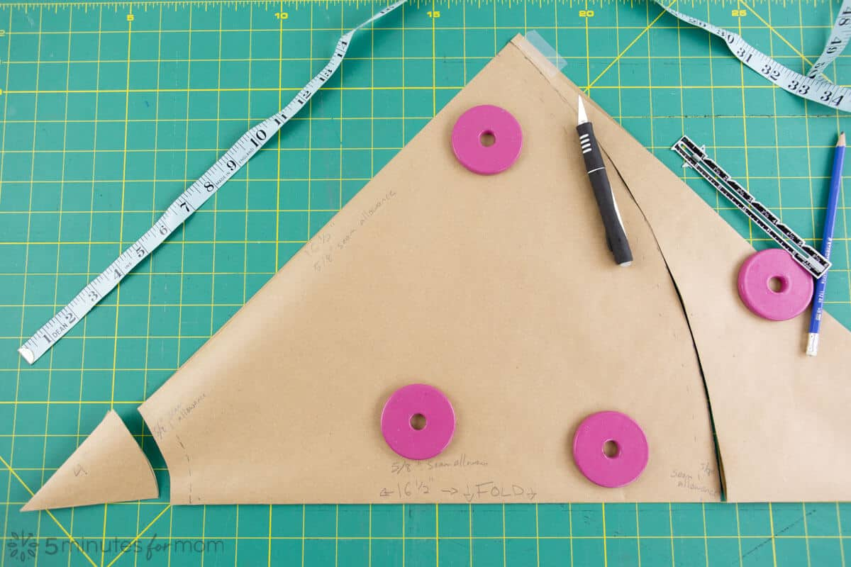 how to draft a pattern for a capelet