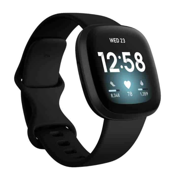 Fitbit Versa 3 in Black