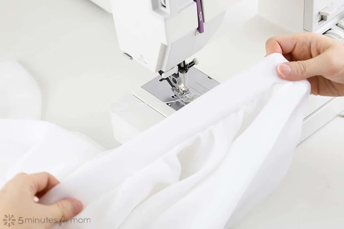 how to add a waistband to a handkerchief skirt