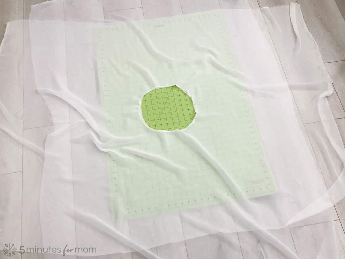 how to sew a ghost handkerchief skirt