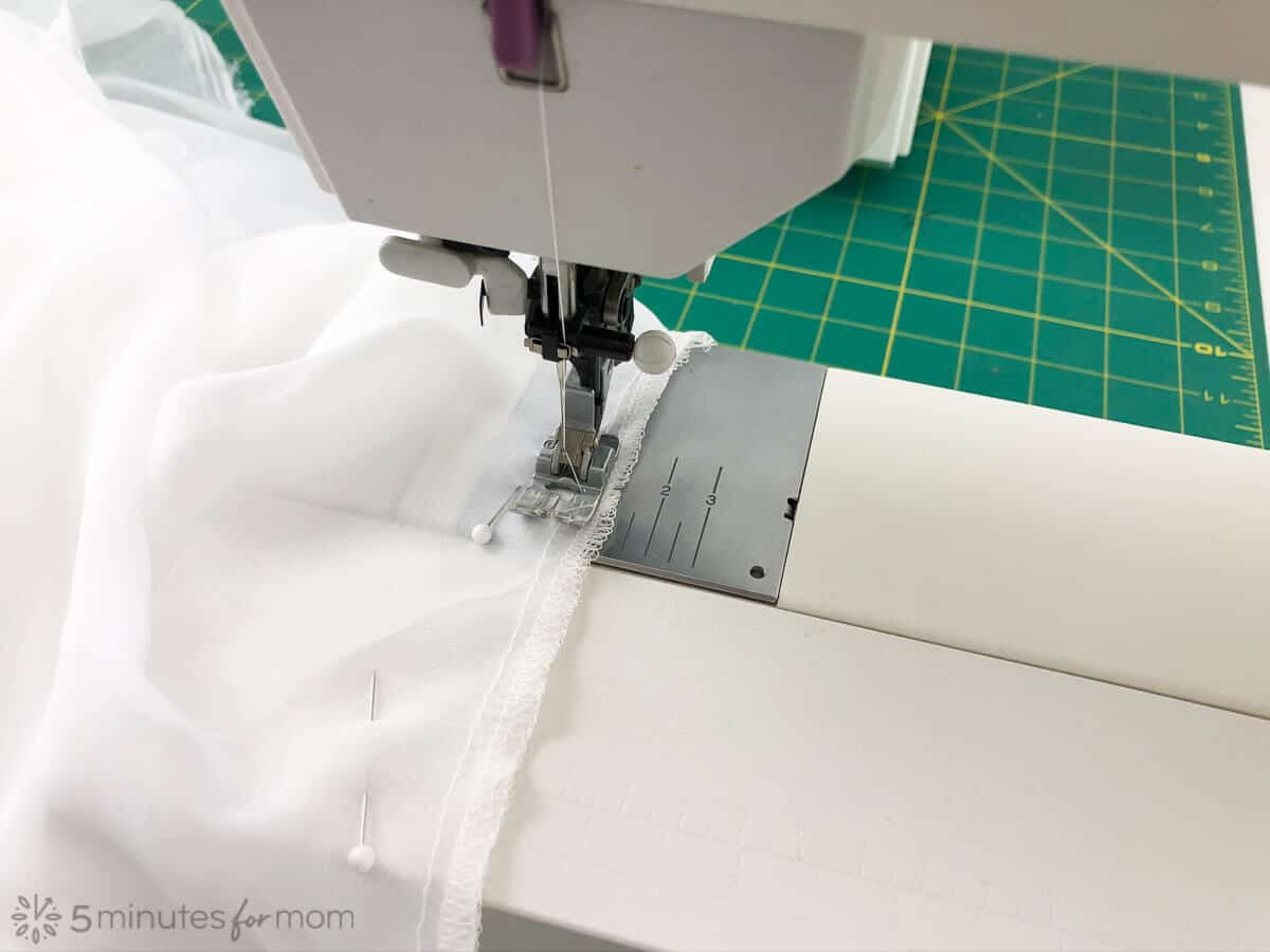 how to sew a handkerchief skirt