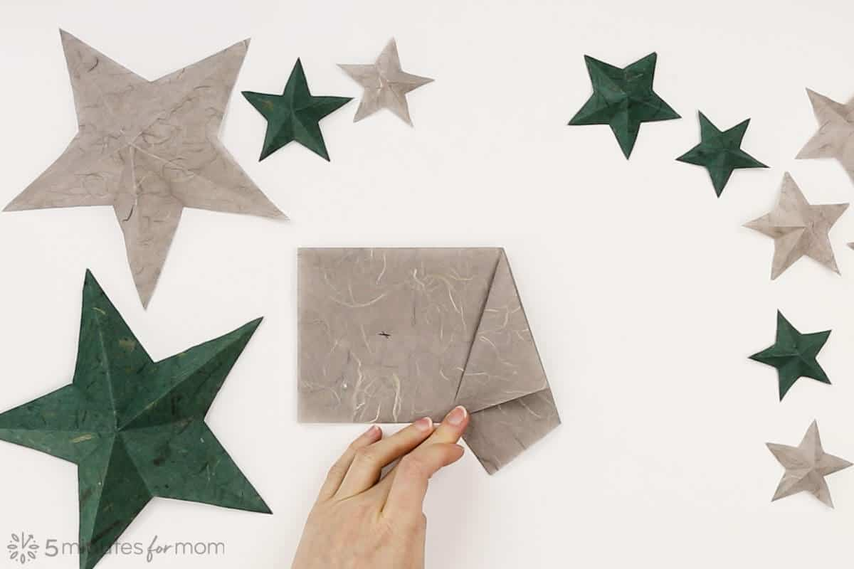 How to make paper stars tutorial