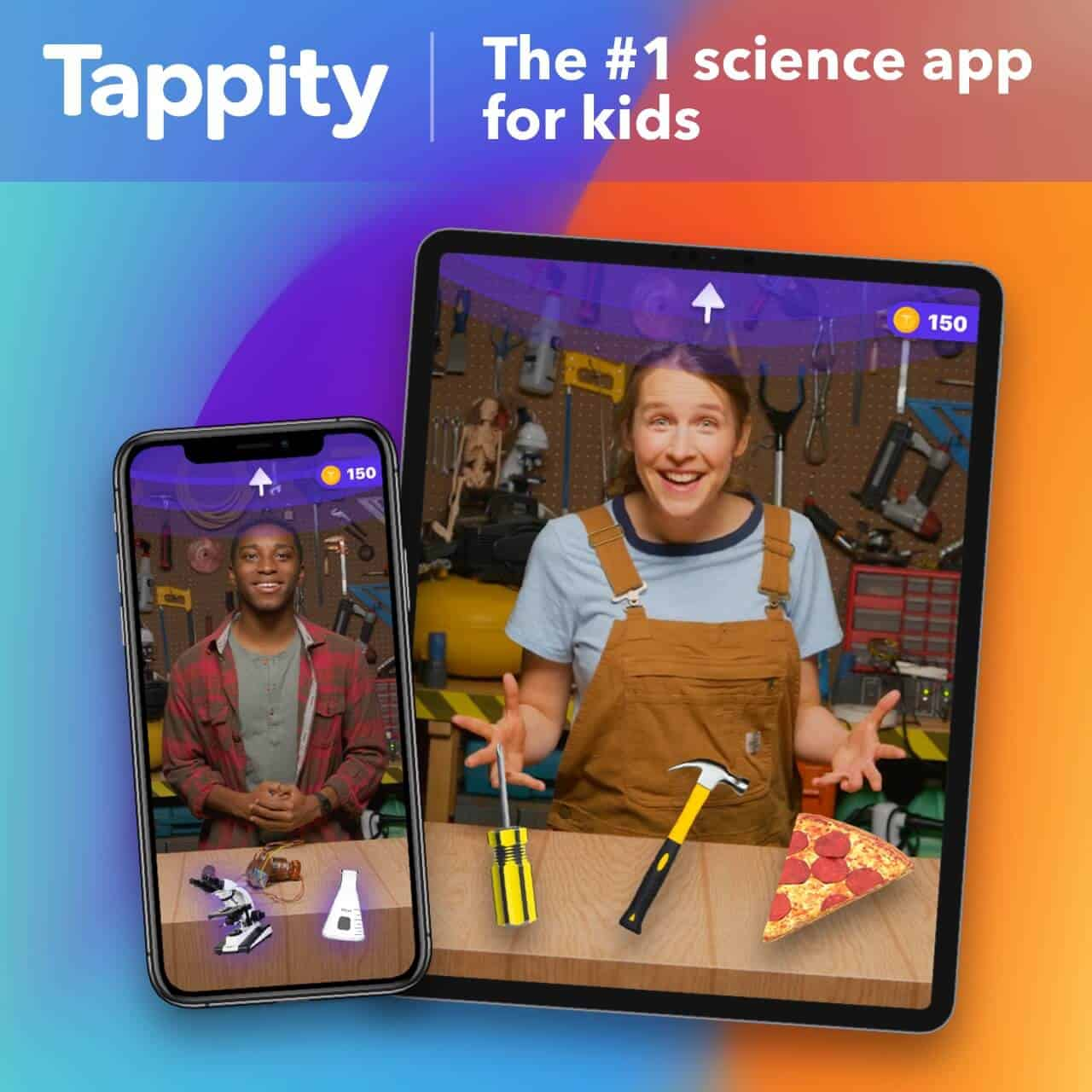 Tappity Science App for Kids