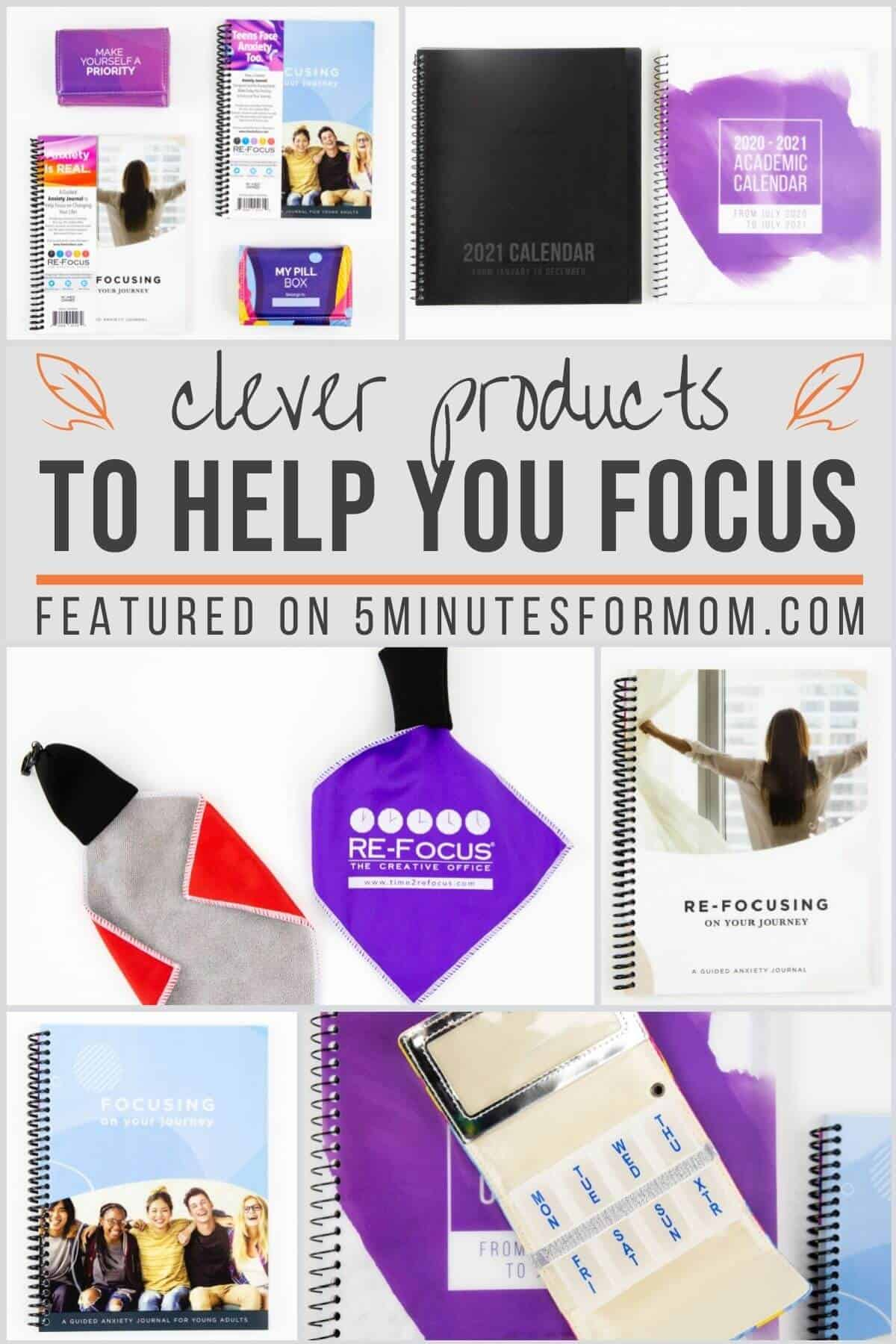Clever Products to Help You Focus