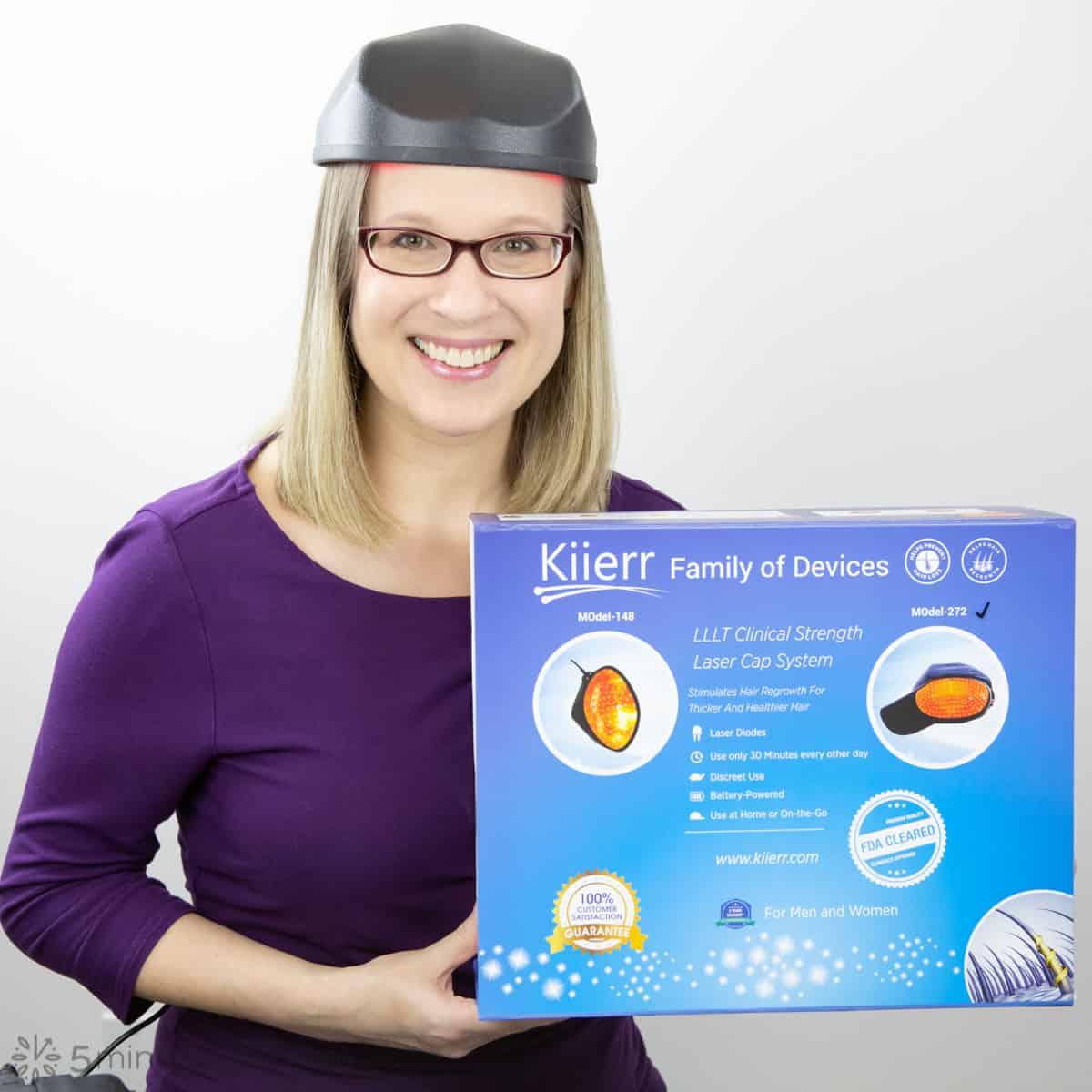 Kiierr Laser Cap - Wearing the Cap