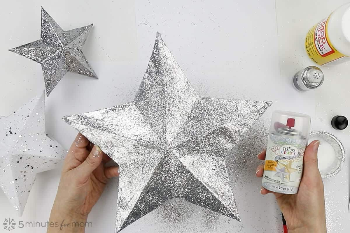 how to make a star tree topper instructions