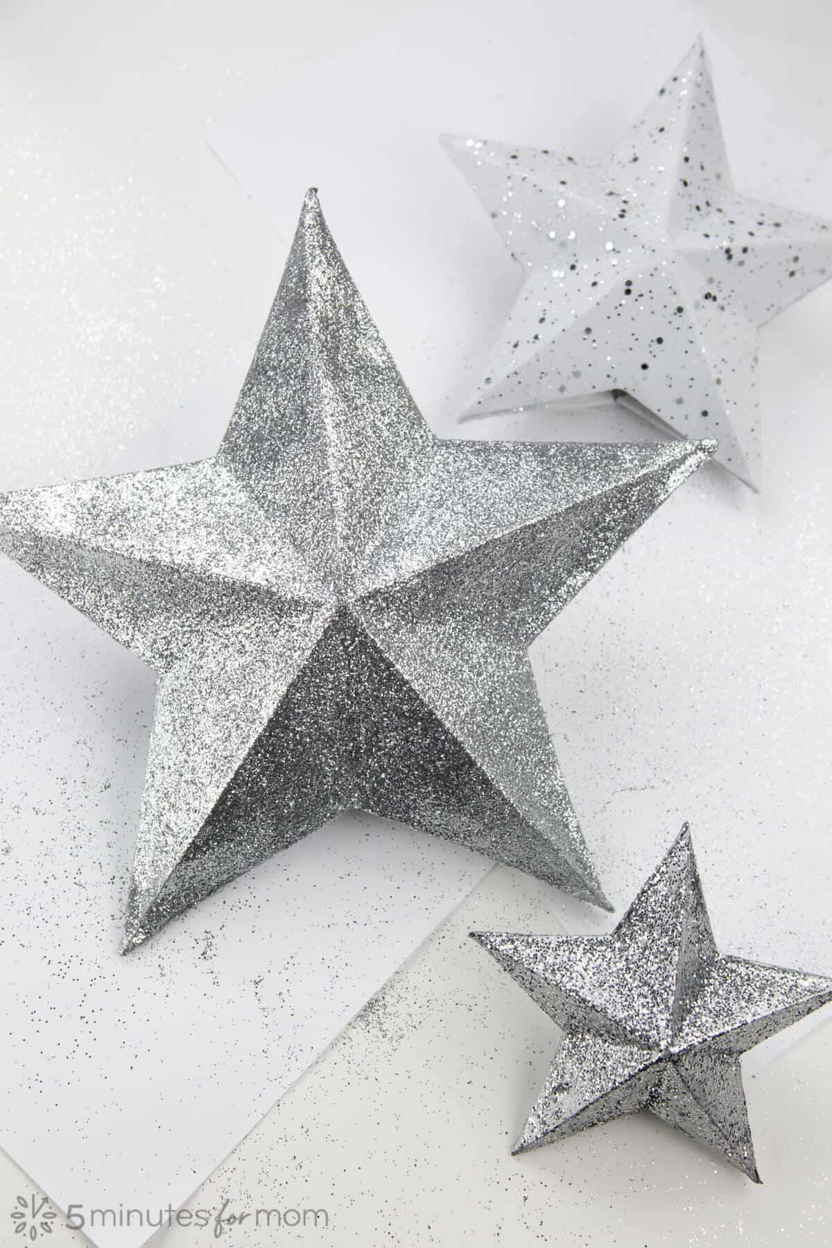 How to make a star Christmas tree topper - DIY tutorial