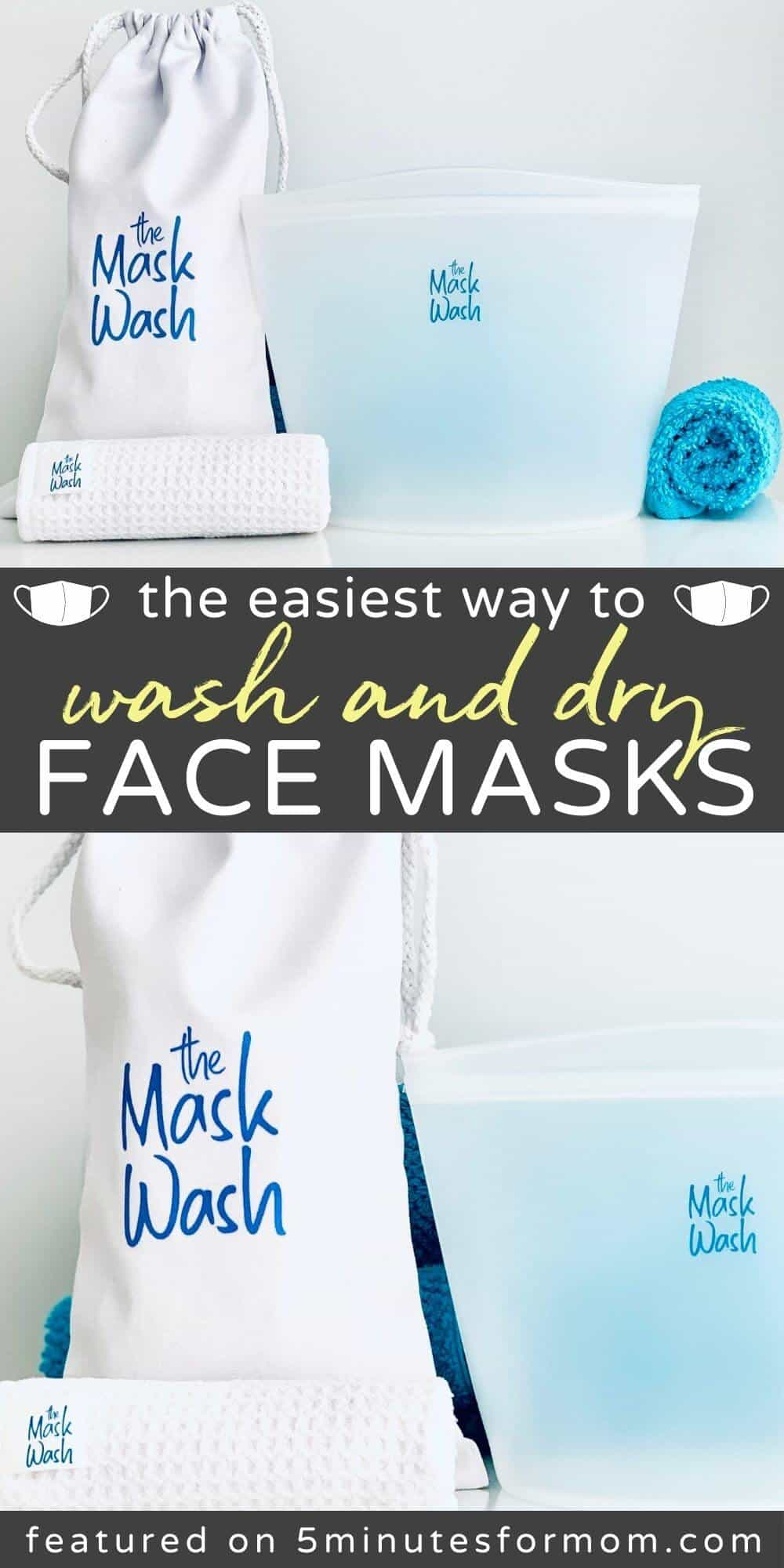 The Easy Way To Wash Face Masks