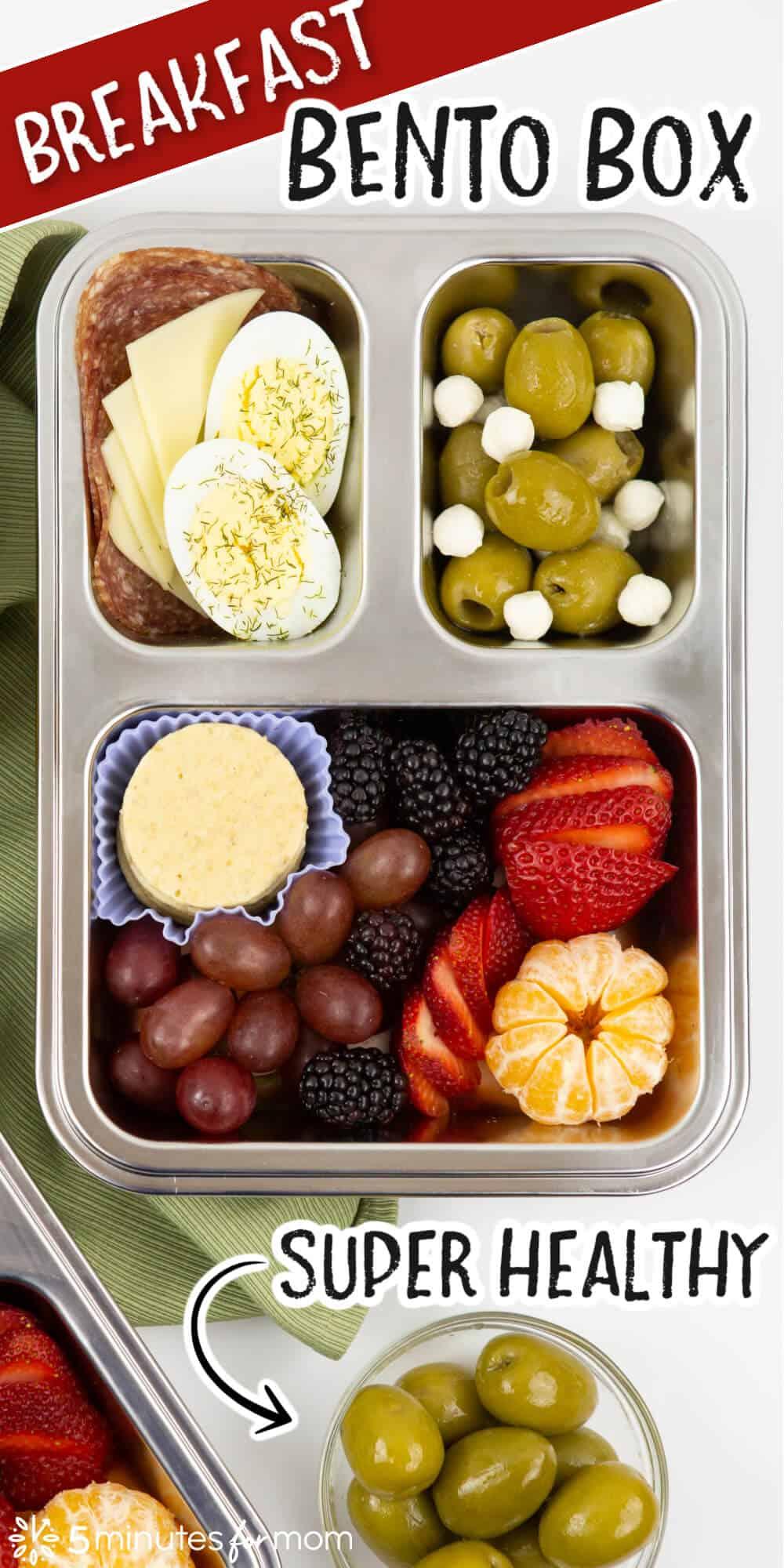Breakfast Bento Box - Super Healthy