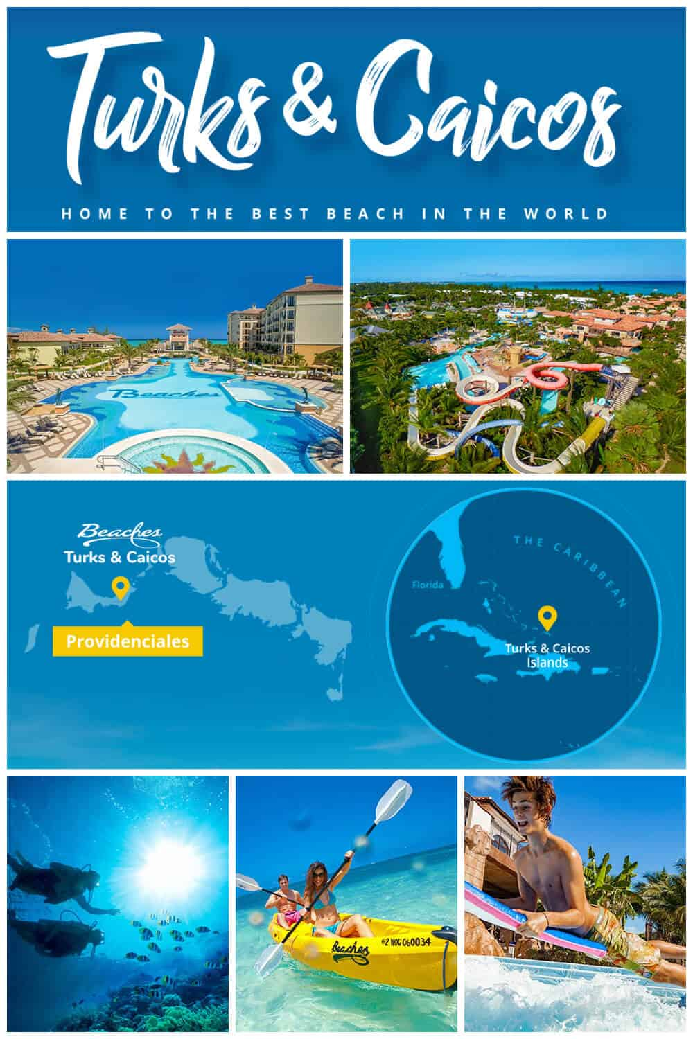 Turks and Caicos - Home to the Best Beach in the World - Vacation Destination